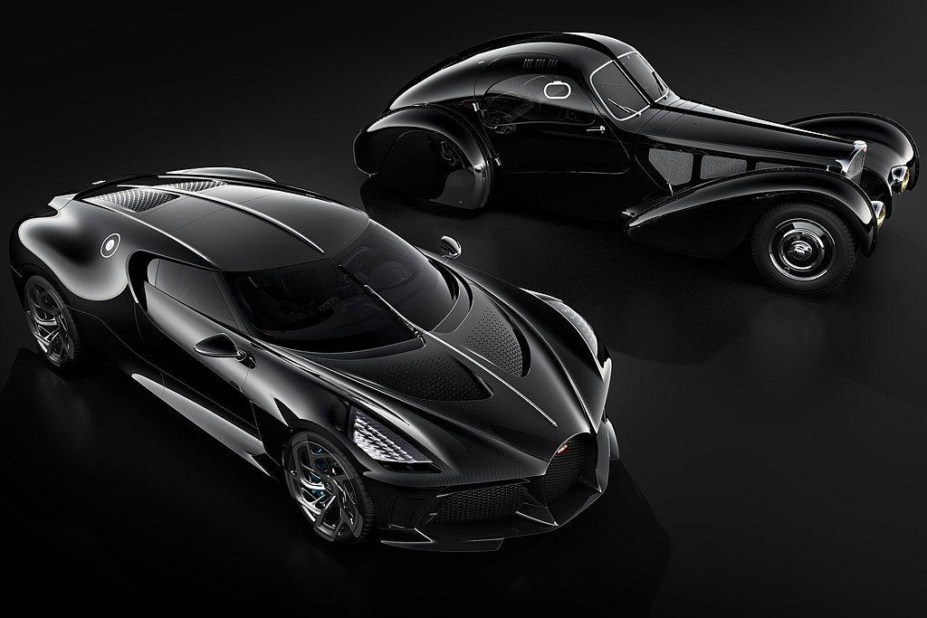 Bugatti La Voiture Noire外型考自Type 57 SC A...