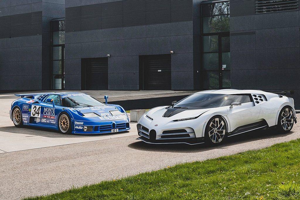 Bugatti Centodieci不僅向Bugatti EB 110致敬,也比...
