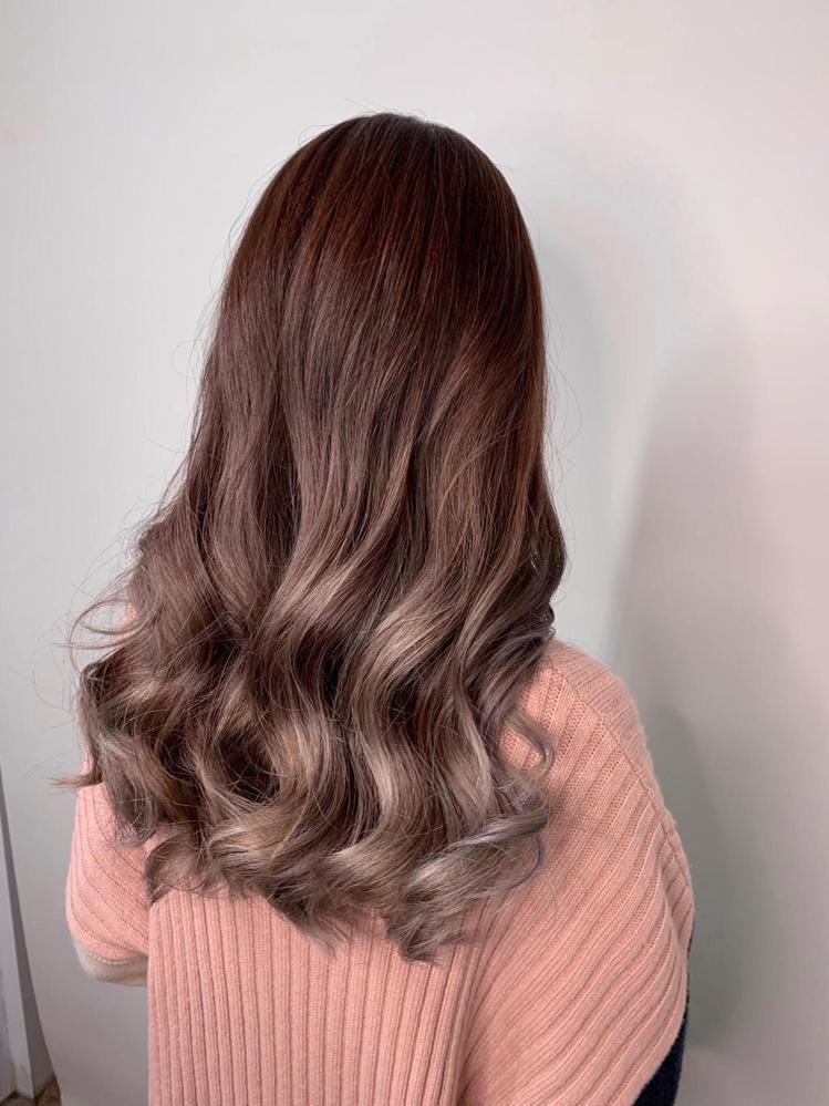 髮型創作/k hair color / Nison 尼森,圖/StyleMap美...