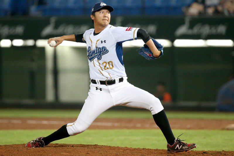 陳禹勳儘管去年狀況不盡理想,今年仍將擔任球隊終結者。 聯合報系資料照片