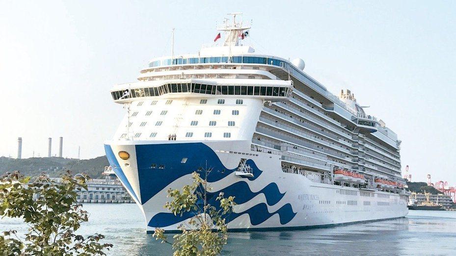 公主遊輪宣佈,將婉拒過去14天內自中國大陸出發、或途經中國大陸的賓客登船。圖/報系資料照