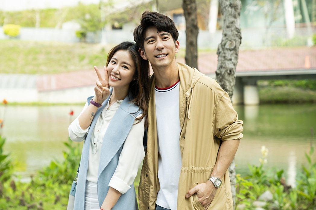 林心如(左)客串「天堂的微笑」,和修杰楷私下交情好。圖/TVBS提供