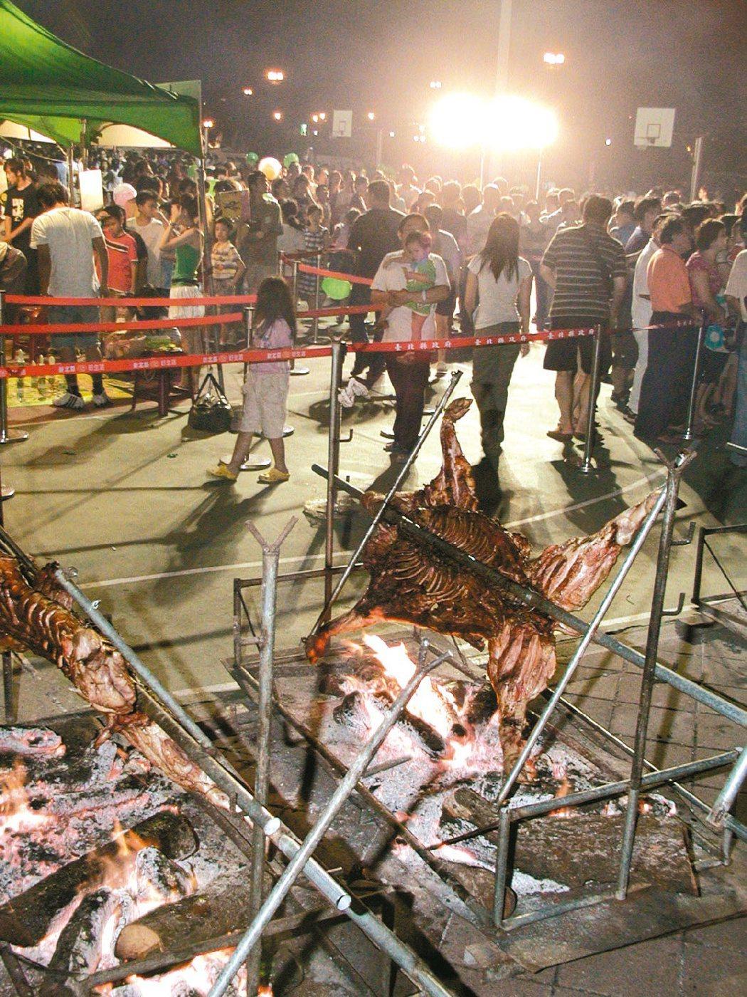 原住民風味烤肉。圖/聯合報系資料照片