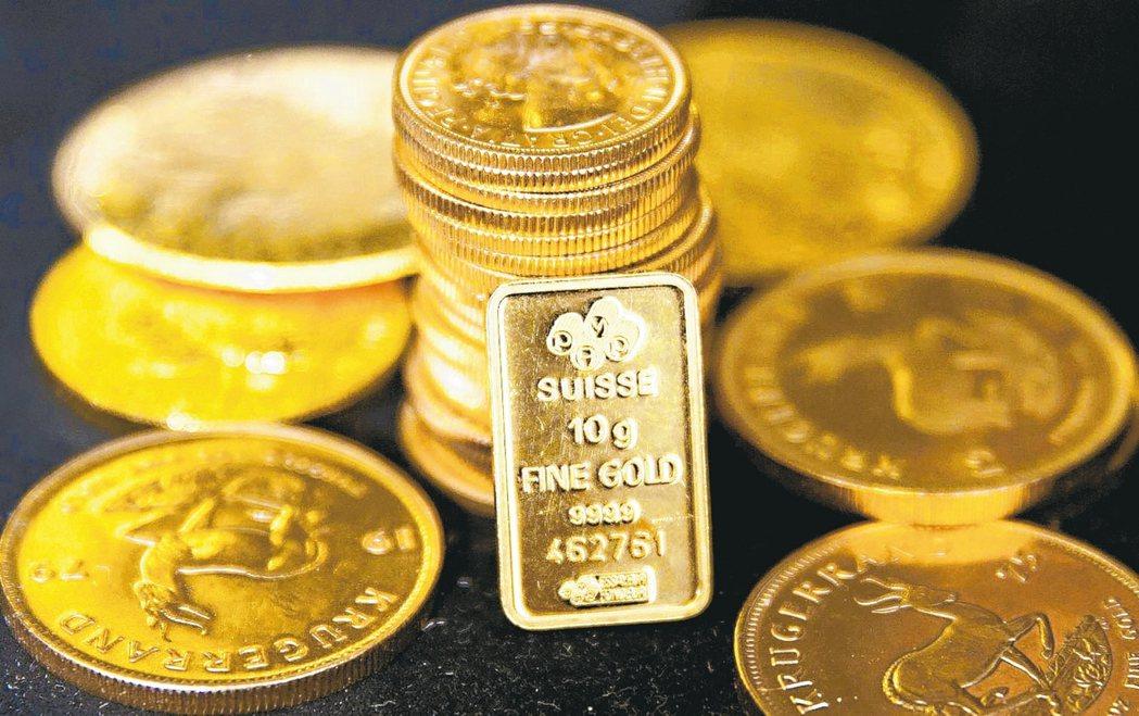 黃金基金去年報酬率名列前茅,主因國際地緣政治風險不時干擾市場,避險資金湧入,激勵...