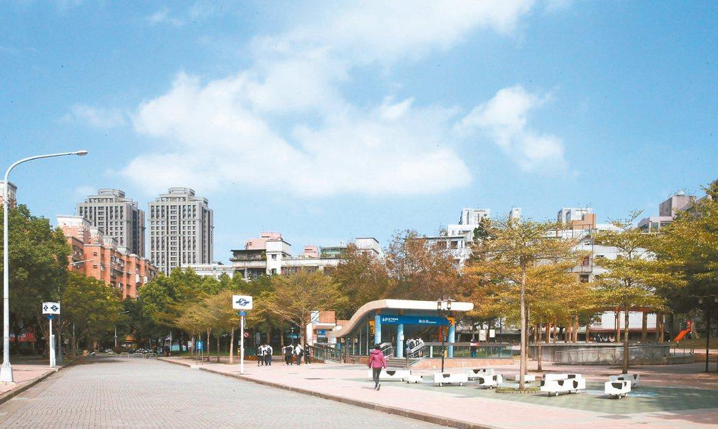 新北市土城海山商圈位於捷運海山站周邊,交通便利、機能完整。 記者黃義書/攝影