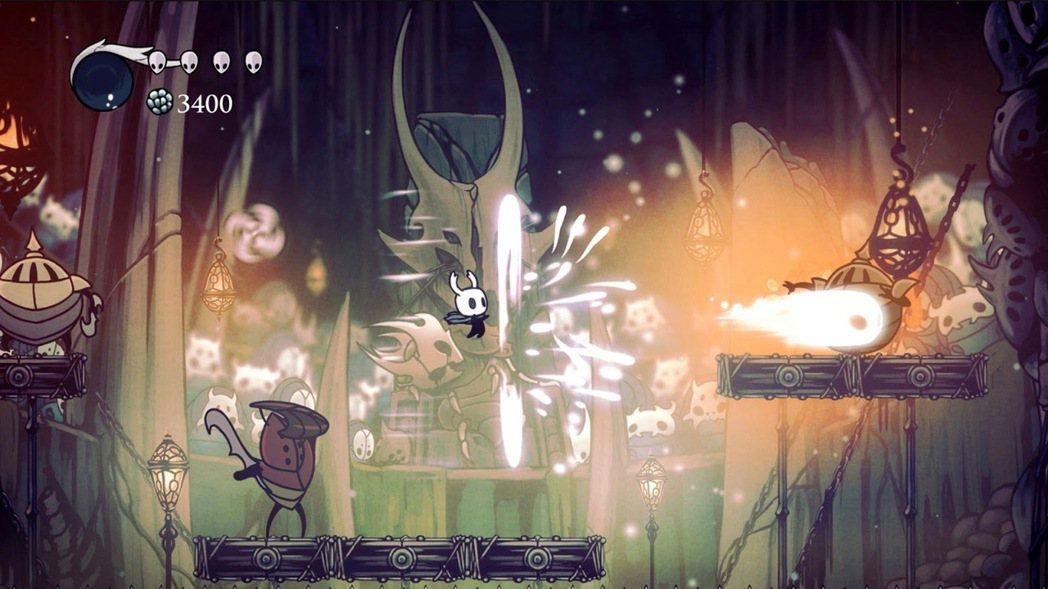 《空洞騎士》的優美畫風,讓人難以想像它某意義上比《黑暗靈魂》難。圖片來源:Tea...