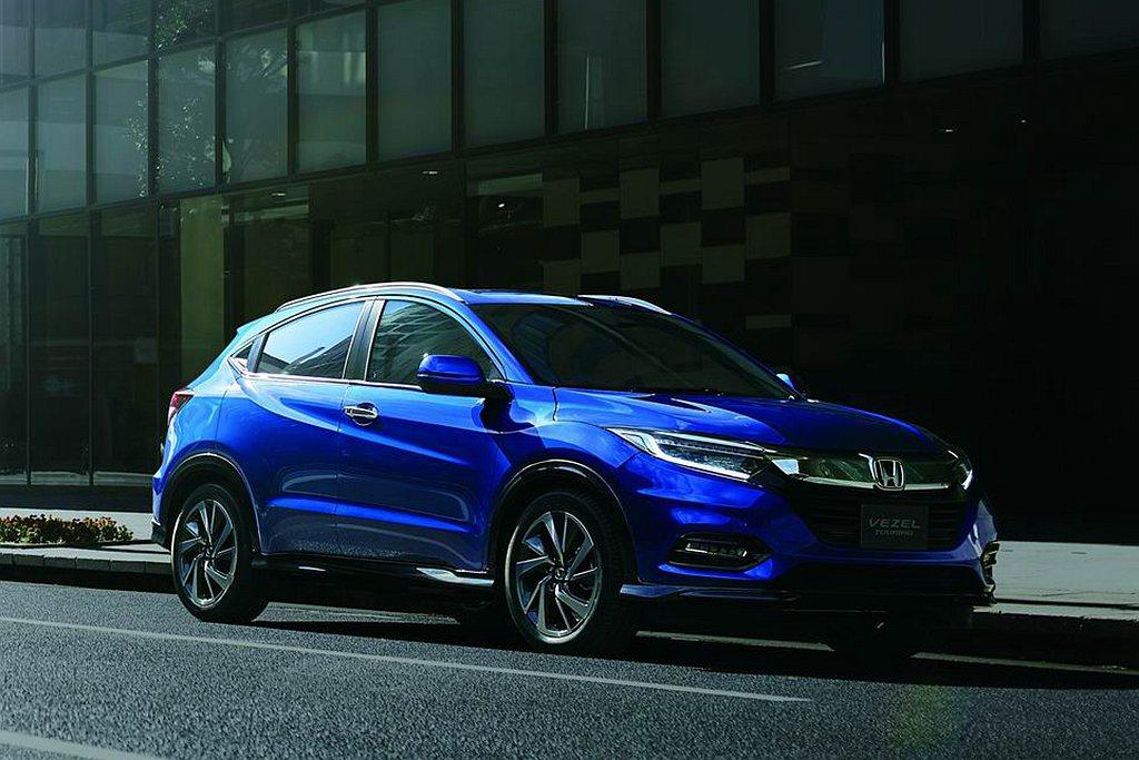 Honda Vezel(即為台灣的HR-V)曾是2014、2015、2016年日...