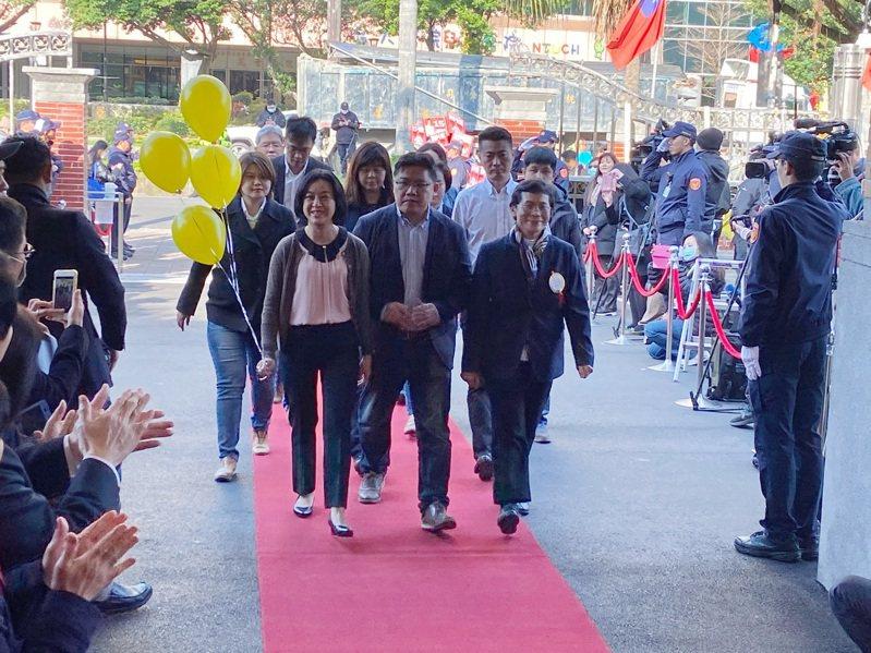 時代力量下午將推派王婉諭角逐立法院副院長。攝影/記者蔡晉宇