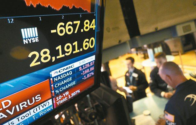 市場憂大陸武漢肺炎疫情衝擊全球經濟,美股道瓊指數上周五終場暴跌603.41點,是...