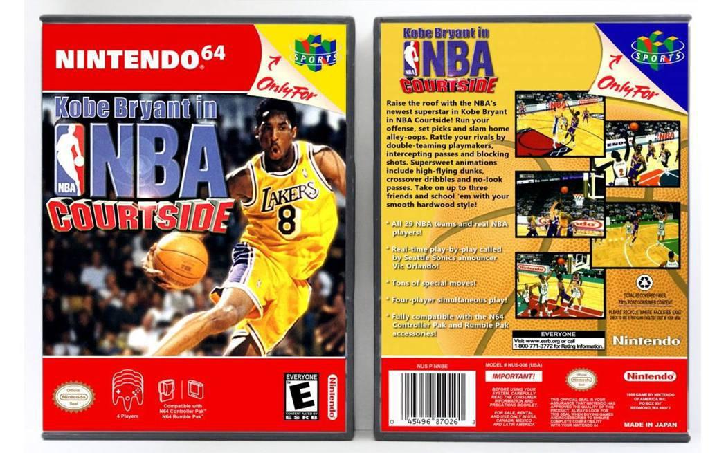 以他為名的《Kobe Bryant in NBA Courtside》