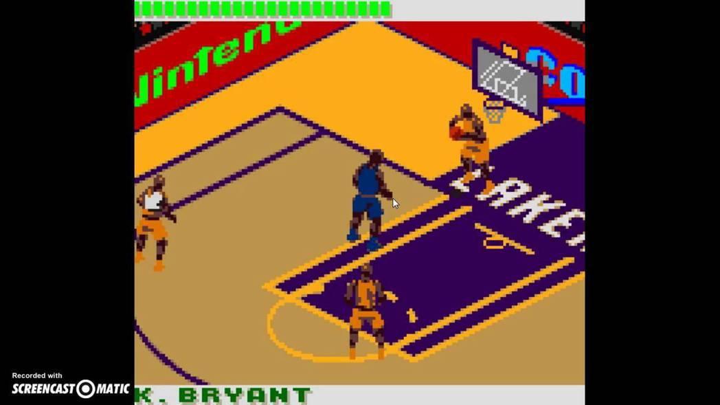 《NBA 3 On 3 Featuring Kobe Bryant》基於GBC質...