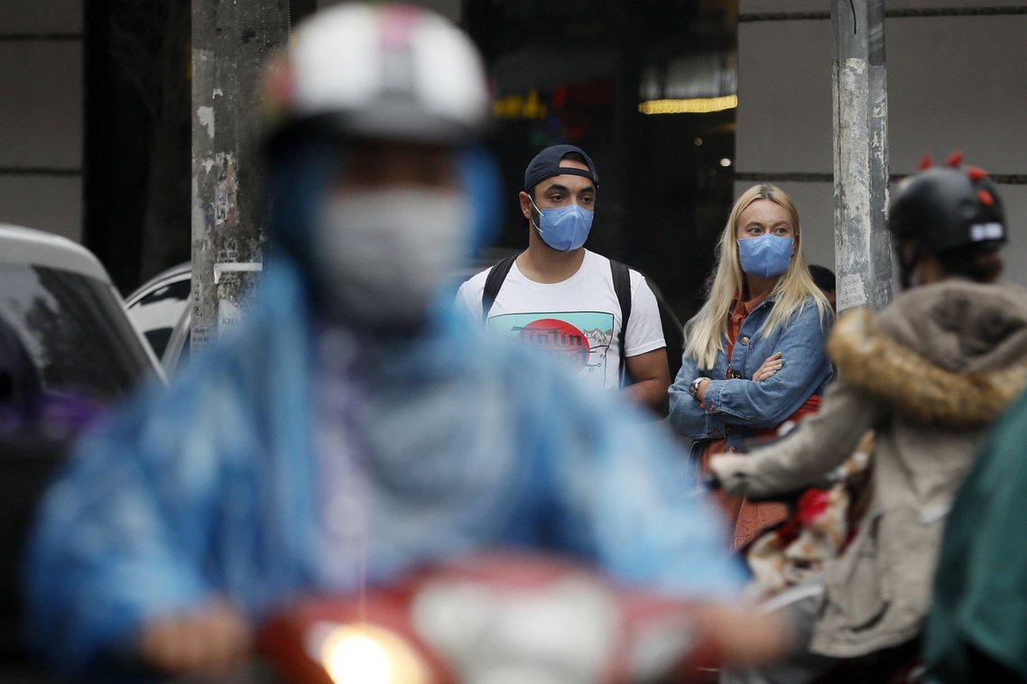 圖為越南街頭。 圖/歐新社
