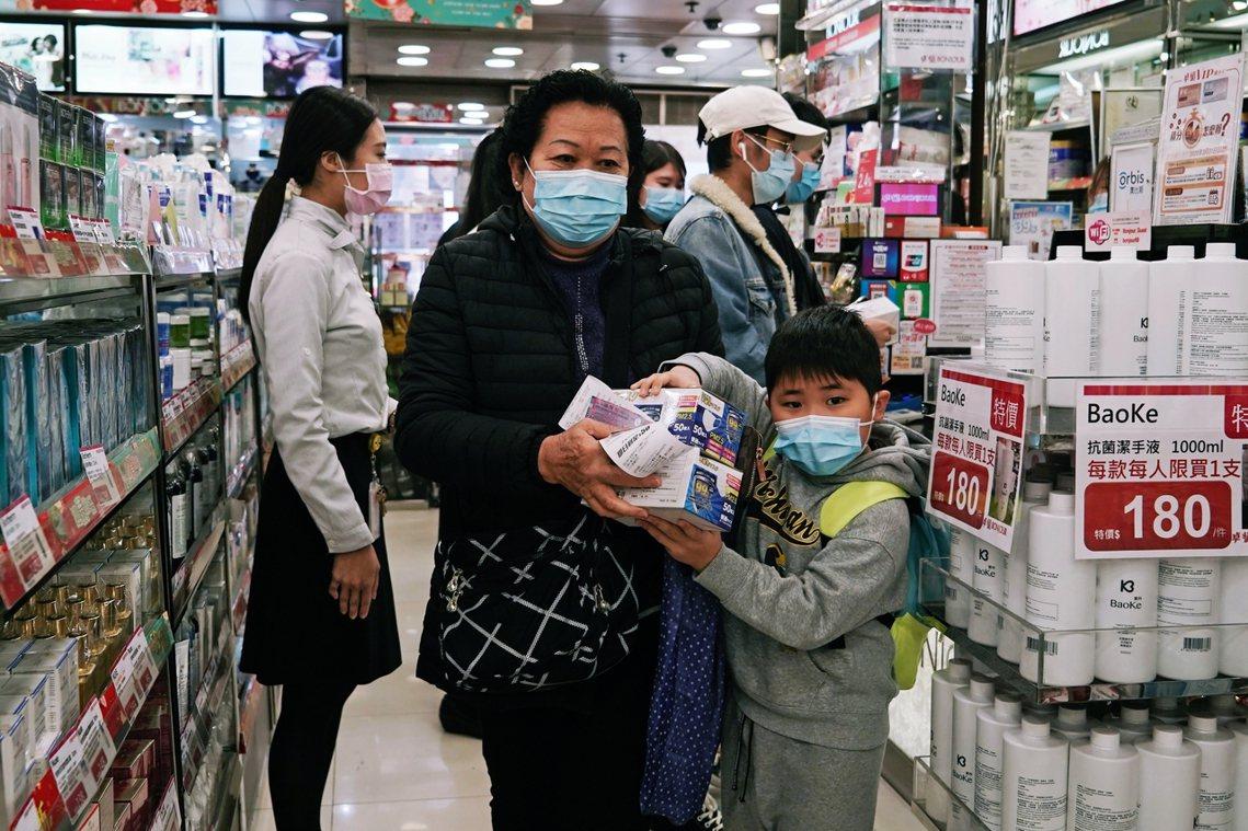 圖為香港。 圖/歐新社