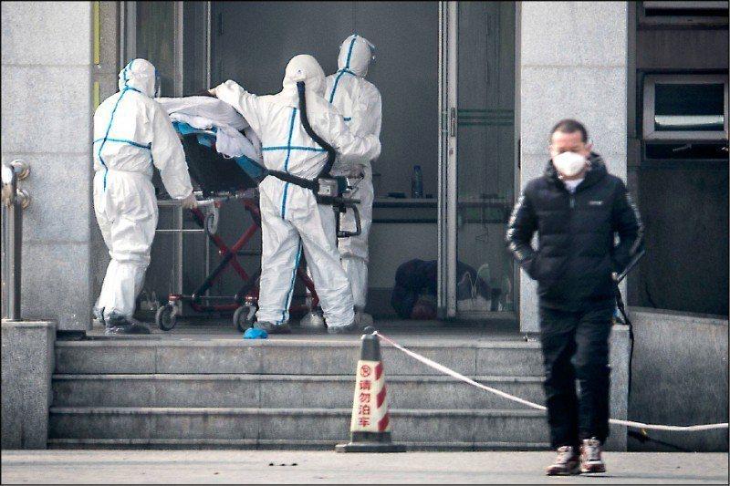 最新研究發現:武漢肺炎病毒存在糞便傳染。法新社