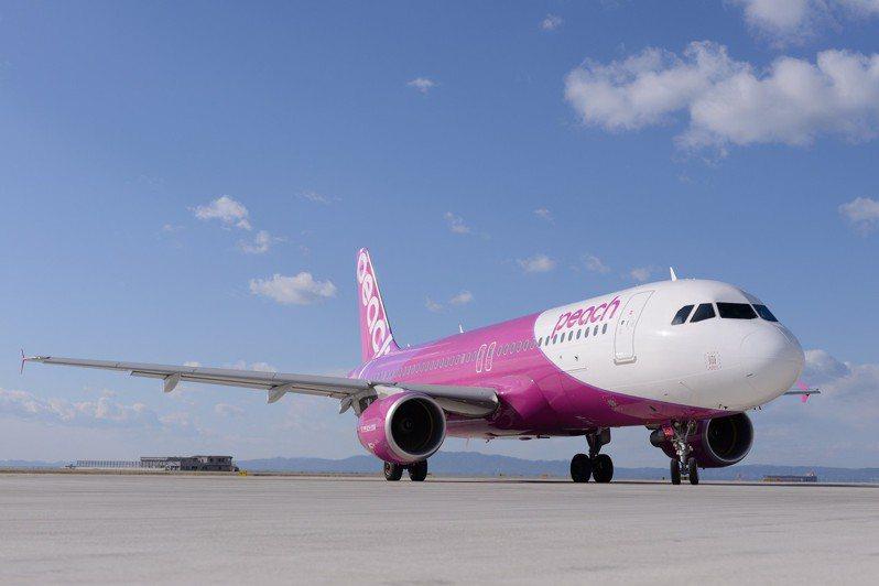 樂桃航空新增國內線,台灣旅客前往可利用國內線轉到其他城市旅遊。圖/樂桃航空提供