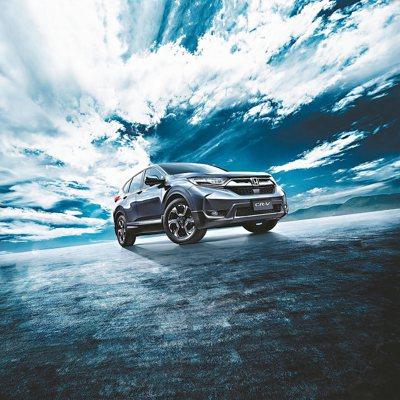 Honda CR-V是台灣休旅車款的領頭羊。 圖/台灣本田提供