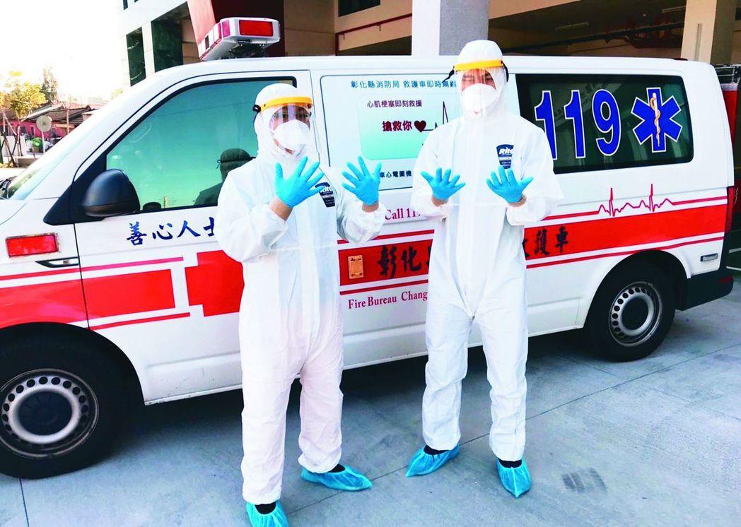 SARS期間50餘輛負壓隔離救護車均已報廢,各縣市消防局只能使用一般專用救護車或...