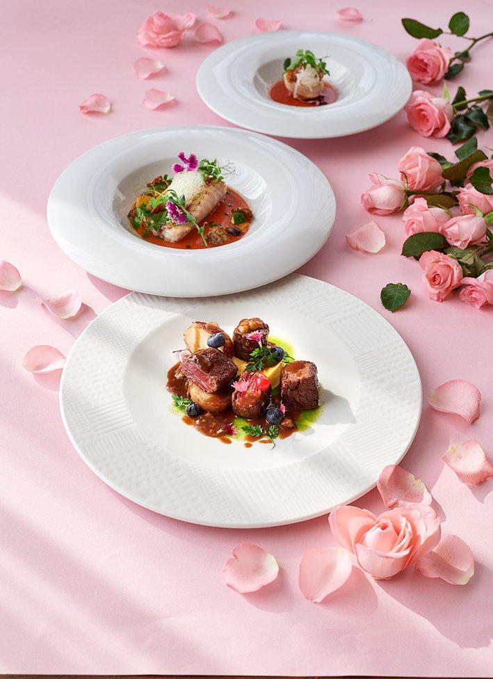 台北美福大飯店GMT義式餐廳摯愛情人套餐。業者/提供詞