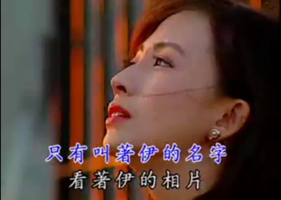 郭昱晴當年拍攝音樂伴唱帶的畫面。 圖/擷自郭昱晴臉書