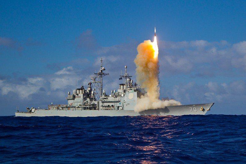美海軍伊利湖導彈巡洋艦。 圖/取自美國海軍