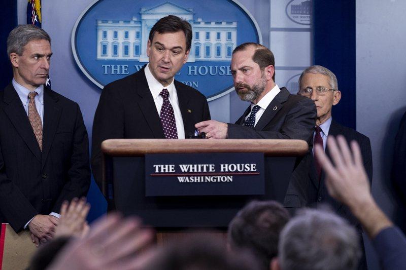 美國國土安全部(DHS)宣布,美東時間2月2日管制近期去過中國的所有航班,當日下午5點生效。 圖/歐新社