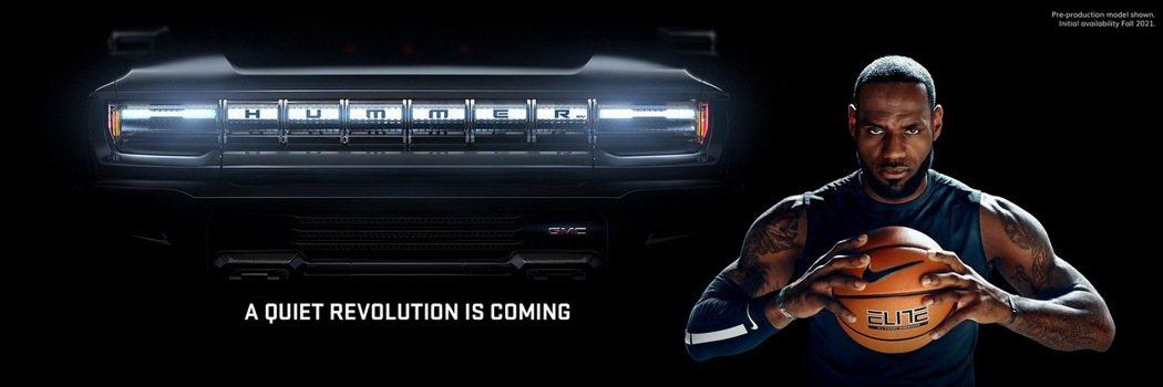 GMC將推出「GMC Hummer EV」電動車,買下超級盃廣告時段,並請來Le...