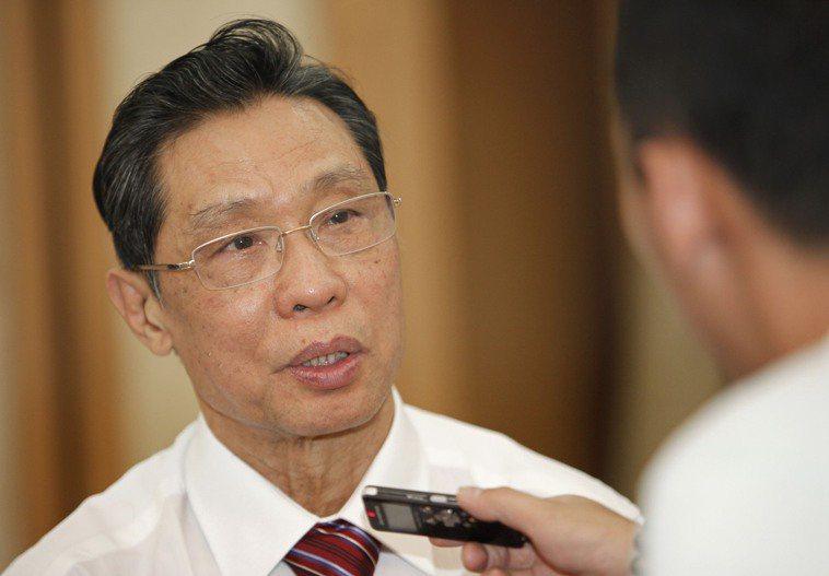 中國工程院院士、抗SARS專家鐘南山。(新華社)