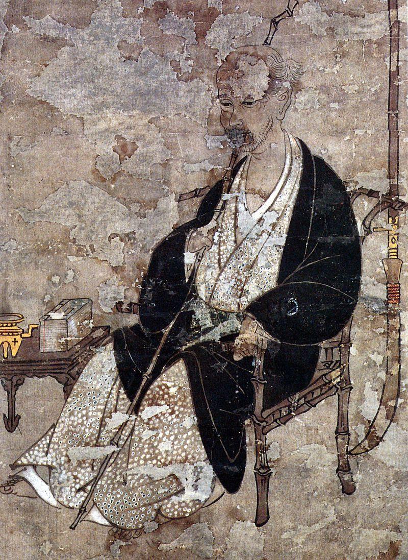岩佐又兵衛的自畫像,現藏於日本靜岡熱海市的MOA美術館。身世離奇的鬼才岩佐又兵衛...