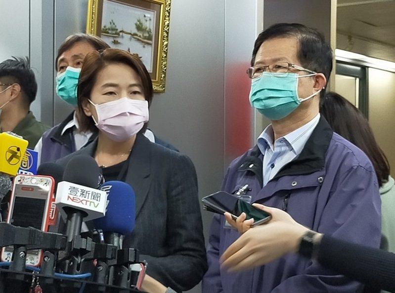 黃珊珊表示,衛生局將會在3日發放12萬餘片口罩給台大、北醫、北榮、萬芳醫院等醫院。(photo by簡碧卿/台灣醒報)