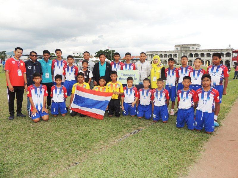 武漢肺炎疫情全球發燒,泰國曼谷阿奴宋俱樂部球隊仍來台參加比賽,至今天下午已4戰4勝。記者羅紹平/攝影