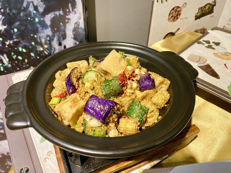 干鍋豆腐。記者宋健生/攝影
