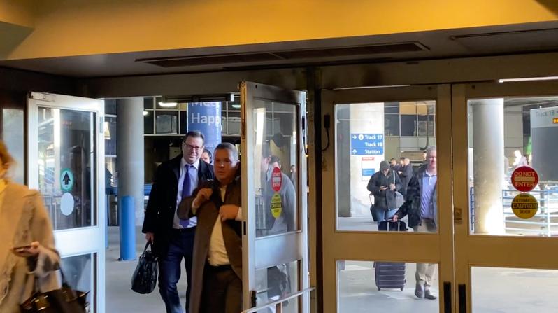 副總統當選人賴清德3日抵達美國華府。華盛頓記者張加/攝影