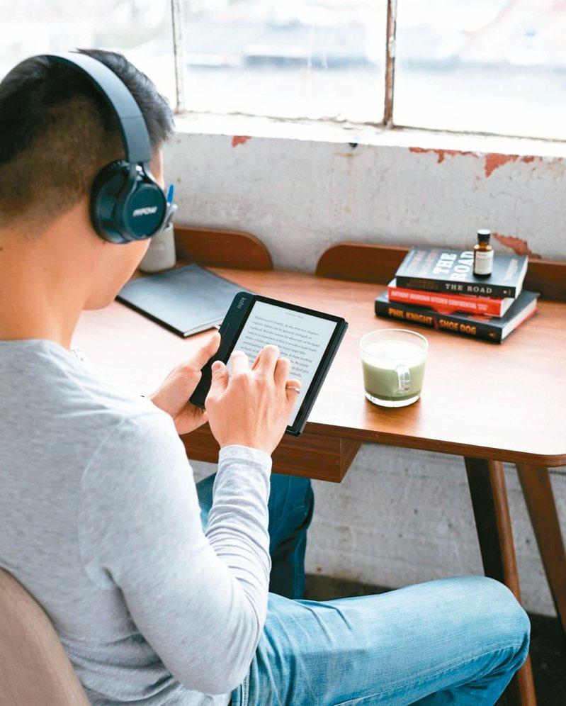 Kobo線上書展全站超過600萬本的中、外文電子書、雜誌,皆享6.5折超值優惠。 圖/樂天Kobo提供