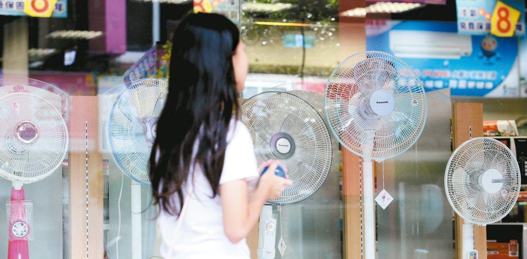 台電為鼓勵民眾節電,力推夏季節電獎勵金加碼。圖/聯合報系資料照片