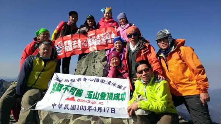 丁博慶雖無心於專攻台灣百岳,卻已爬過80多座,第一高峰玉山就爬了20多趟,合歡山...