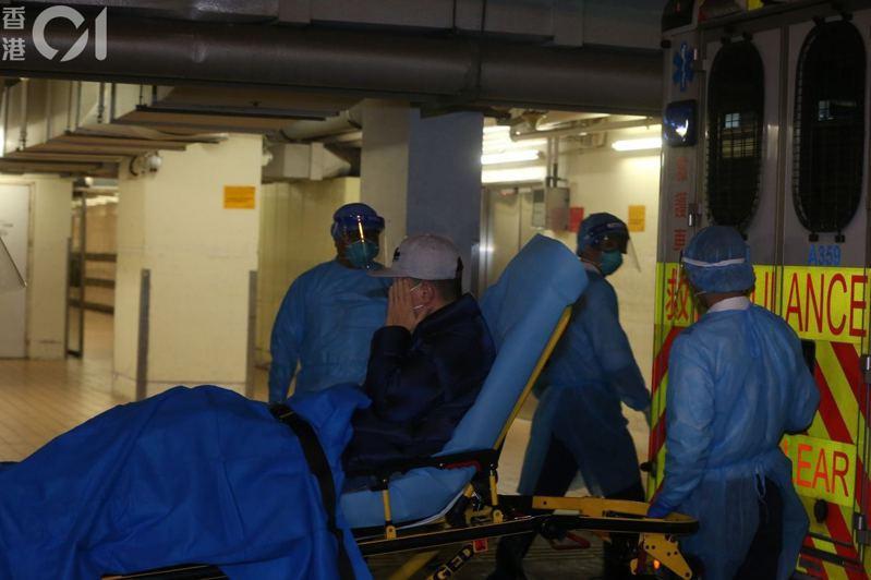 黃埔花園39歲男子,早前由伊利沙伯醫院轉到瑪嘉烈醫院隔離診治。(資料圖片/王譯揚攝)
