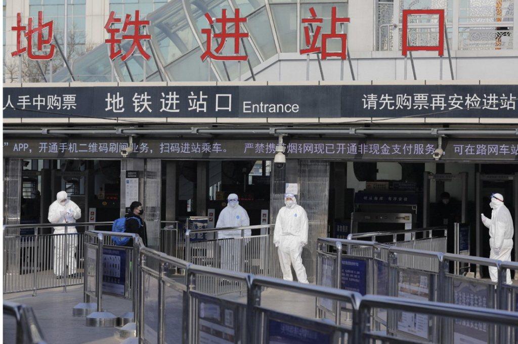 武漢政府在12月31日公布疫情訊息。 圖/歐新社