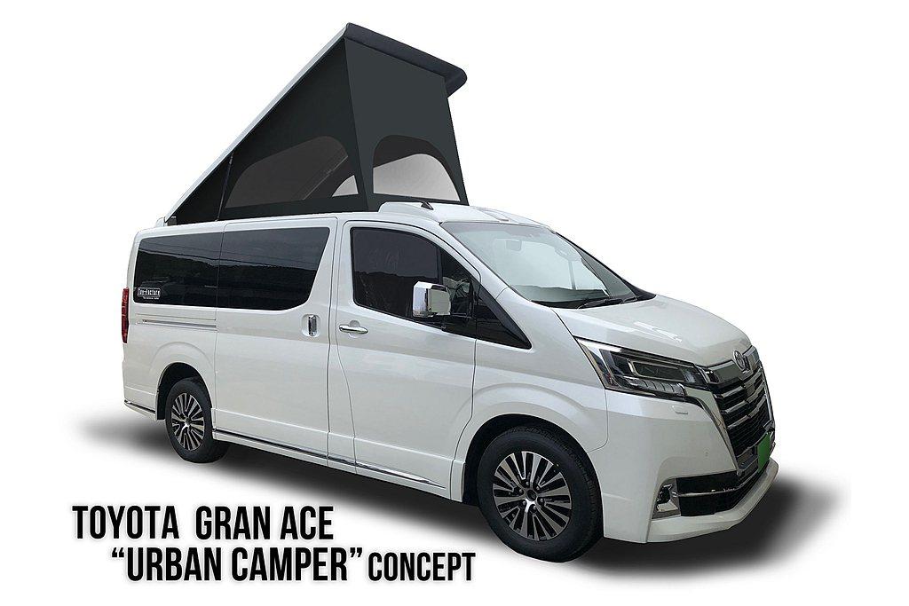 以日規Toyota GrandAce為基礎且保留多人承載能力外,透過Urban ...