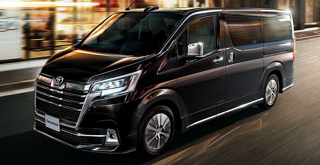 2019年底在日本正式開賣的Toyota GrandAce,提供Premium(...