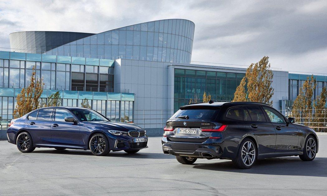 隸屬於M Performance家族的BMW M340i xDrvie。 摘自B...