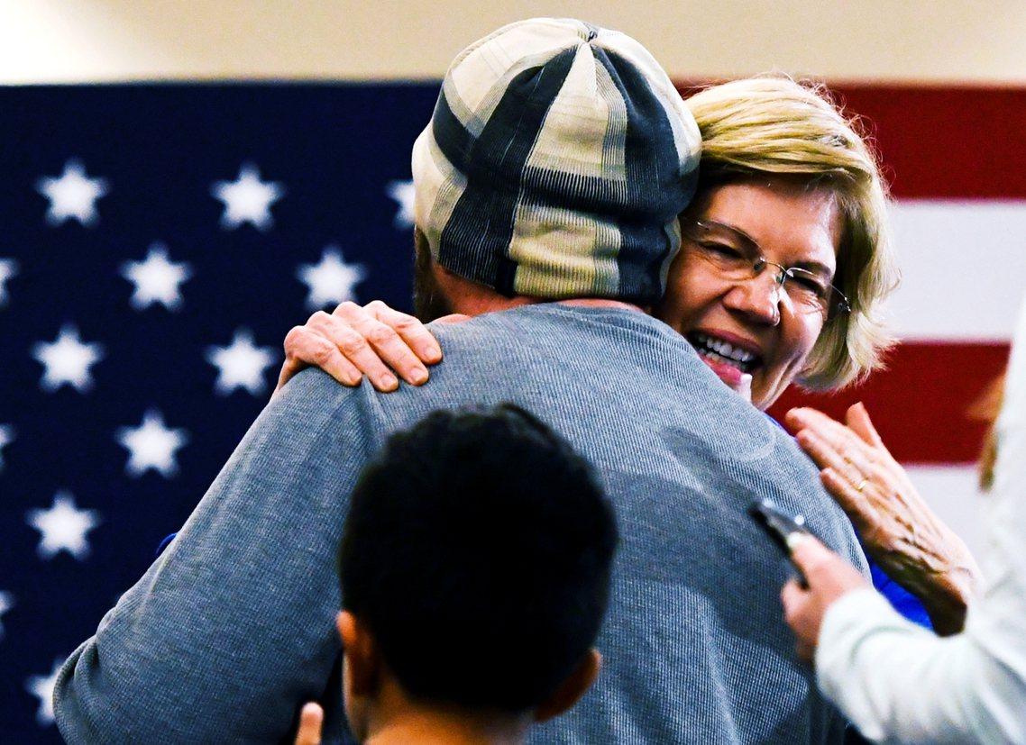 華倫(Elizabeth Warren)。 圖/歐新社
