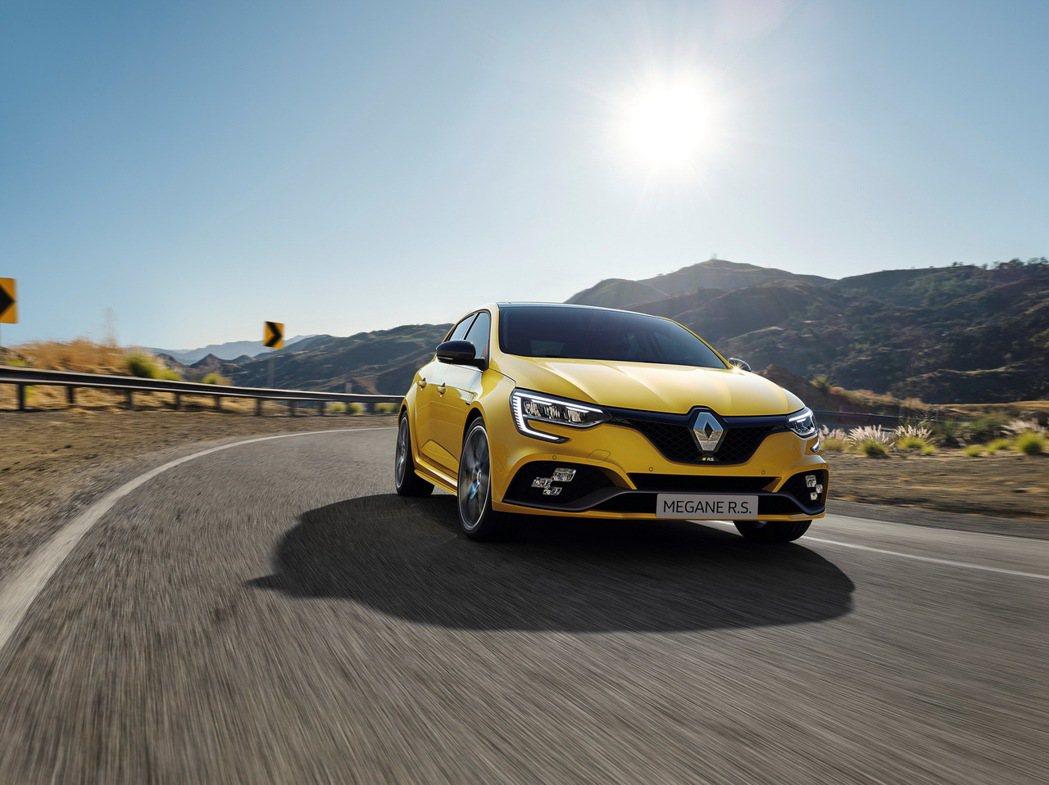 Renault Megane RS。 摘自Renault