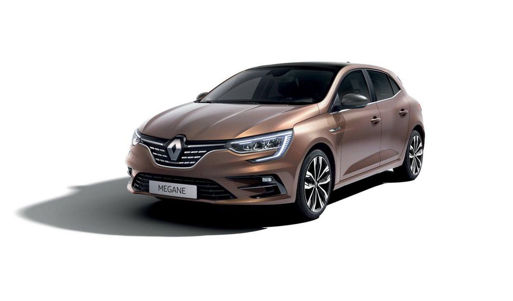 Renault Megane小改款在外觀上僅做了細微的更動。 摘自Renault