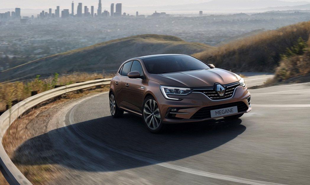 Renault Megane小改款發表。 摘自Renault