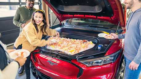 Mustang Mach-E預售開紅盤 原來還配備開趴必備功能!