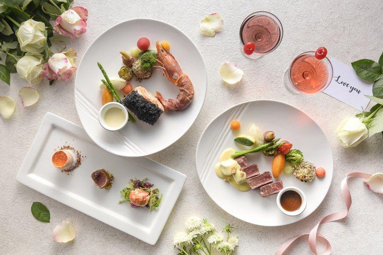 和逸飯店高雄中山館推出星空情人饗宴。圖/和逸飯店提供