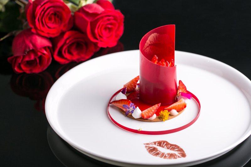 台北西華飯店的TOSCANA義大利餐廳於2月14日晚間推出雙人甜蜜套餐。圖/台北西華飯店提供