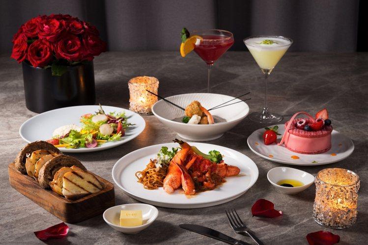 礁溪寒沐推出「愛妳愛你浪漫情人餐」,每份2,020元。圖/礁溪寒沐提供
