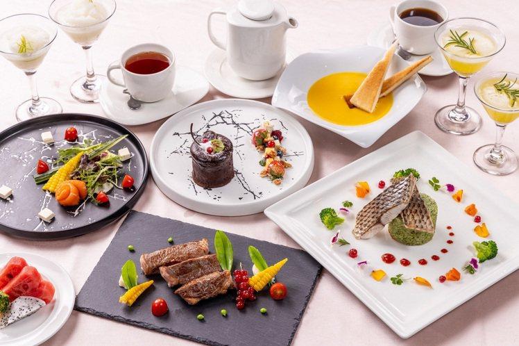 福容桃園機捷A8店推出2020愛你愛妳美饌雙人套餐。圖/福容大飯店提供