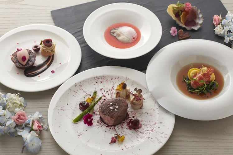 寒舍艾麗酒店「幻彩繪戀」雙人套餐,每套4,880元。圖/寒舍艾麗酒店提供